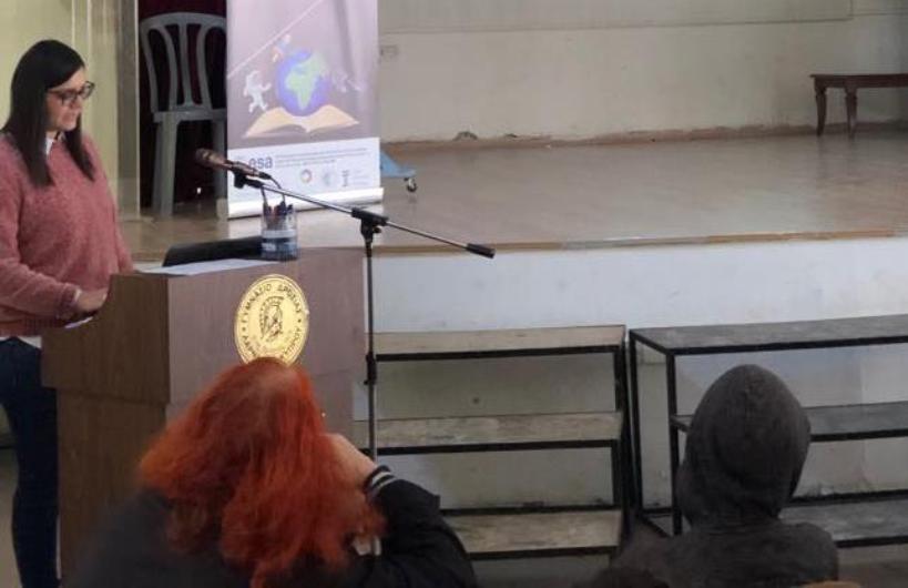 Φωτογραφίες από την παρουσίαση στο Γυμνάσιο Δροσιάς στην Λάρνακα